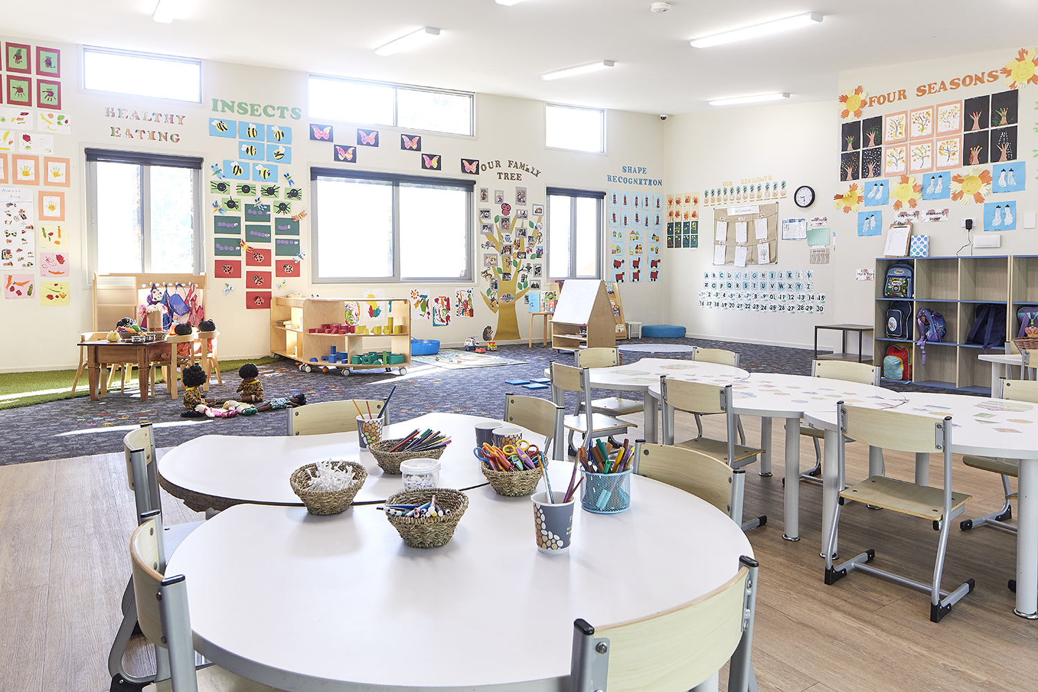Preschool child care classroom at Papilio Belrose